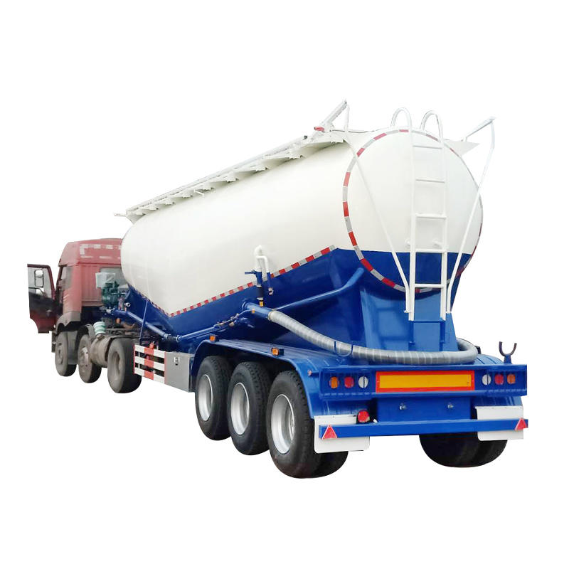 Bulk Cement Powder Carrier Cement Tanker Trailer