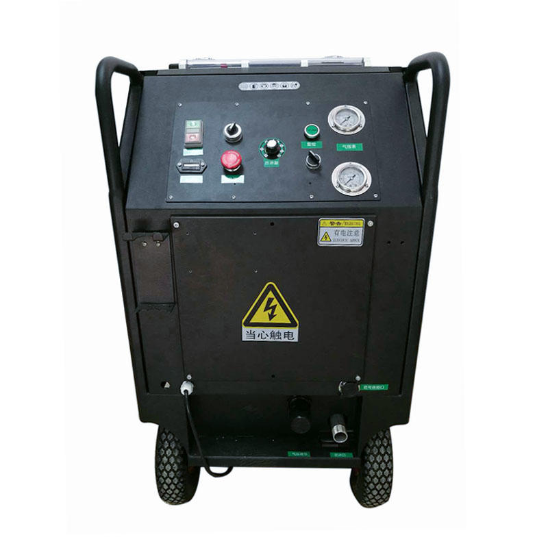 Granule/powder mixed dry ice blasting machine