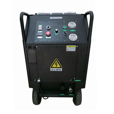 Granule/powder mixed dry ice blasting machine