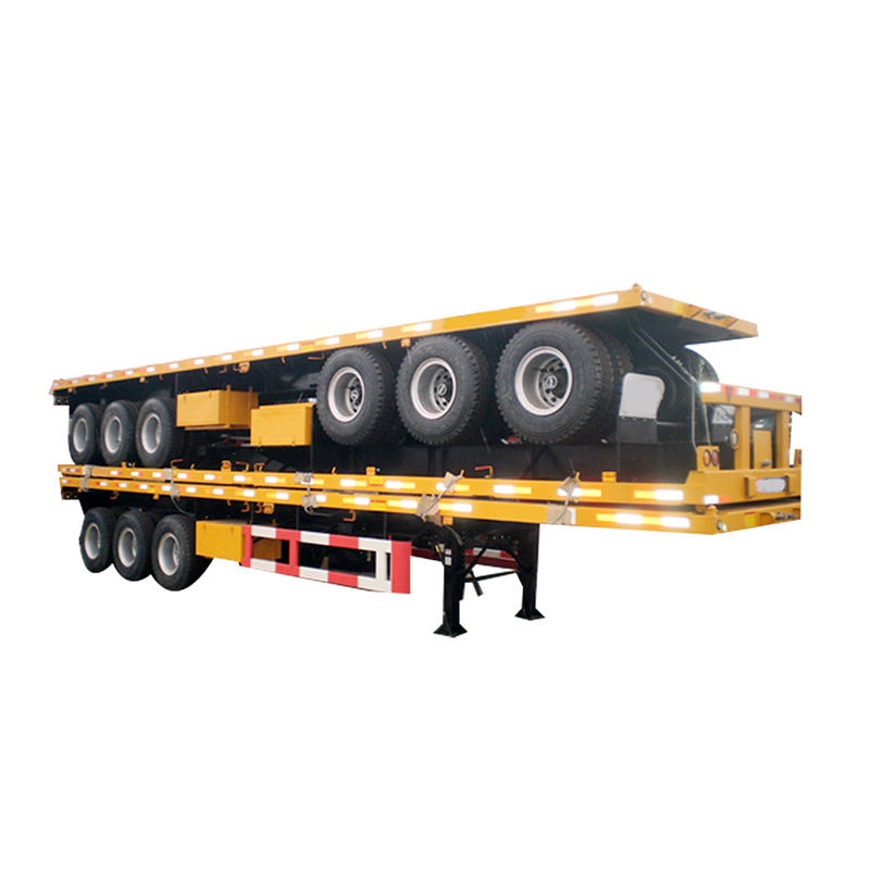40ft flat bed semi trailer