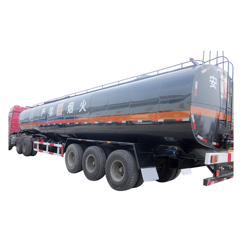 Oil new tank trailer-delivery for oil and diesel or fuel