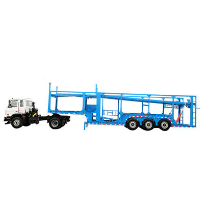 8 cars vehicle transport trailer delivery cars
