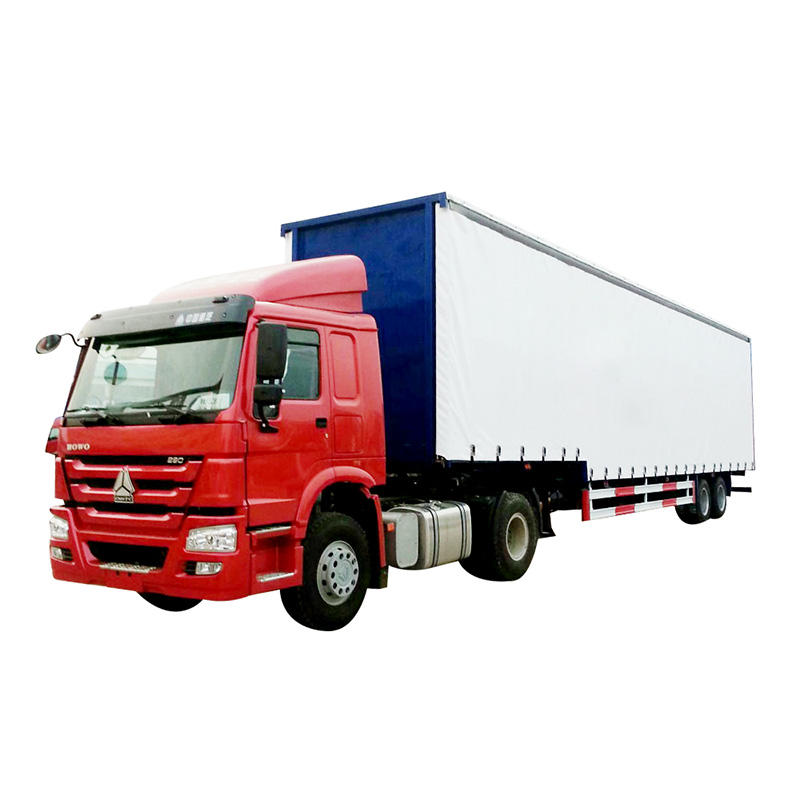 Curtain semi-trailer truck-delivery for light bubble goods and other bulk cargo