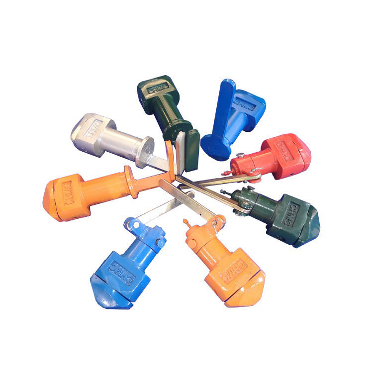 Container twist locks for trailer