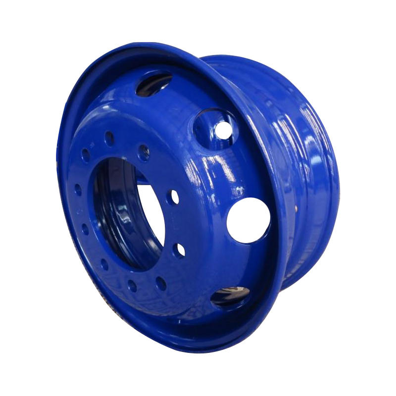 Trailer wheel rim for trailer truck