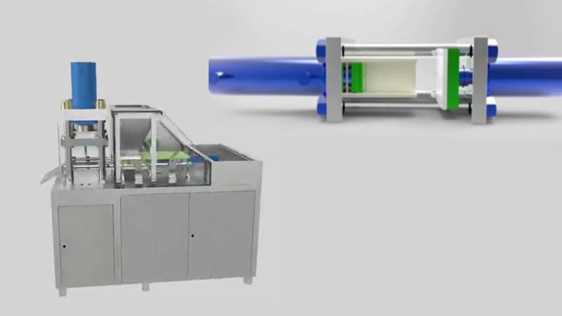 Dry ice make machine