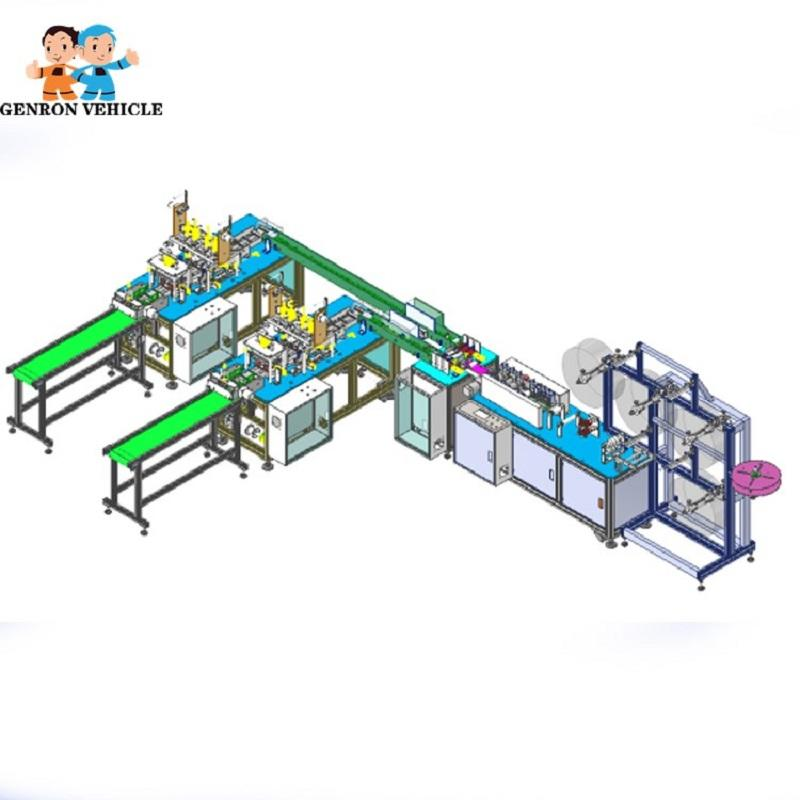 Automatic Disposable Face Mask Making Machine