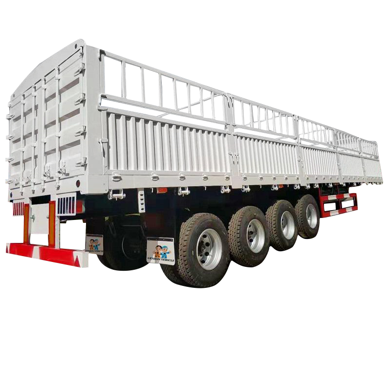Fence /Stake Semi Trailer-Delivery for Fruits and Vegetables and Livestock