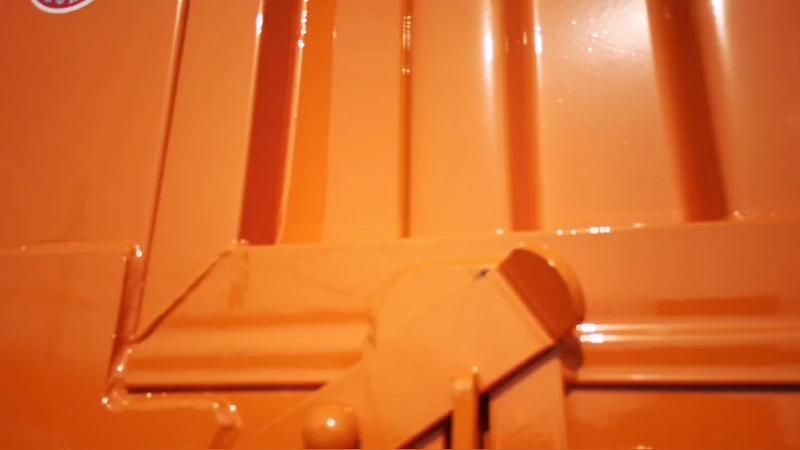 Stake Bulk Cargo Trailer Details Display