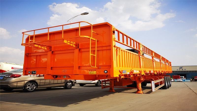 Stake bulk cargo trailer