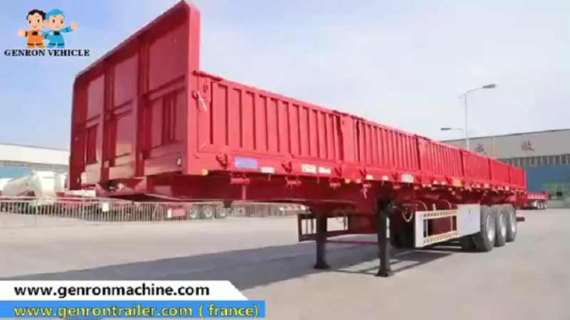 Bulk transport cargo trailers
