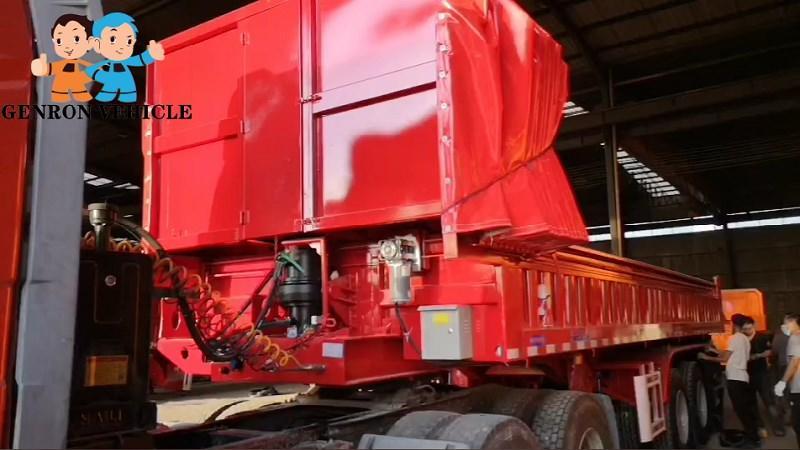 Rear Dump Semi trailer