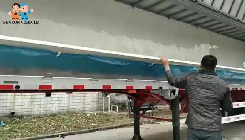 Aluminum Side wingspan trailer truck