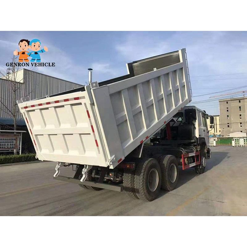 Second hand dumper truck export to Nigeria