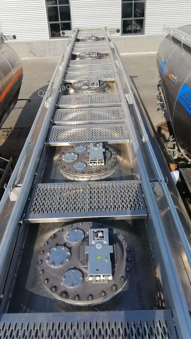 Genron lpg trailer tanker directly sale bulk production-4