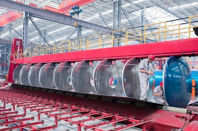 Genron lpg trailer tanker directly sale bulk production