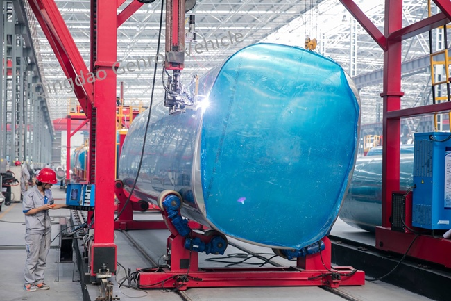 Genron lpg trailer tanker directly sale bulk production-10