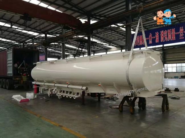 Genron lpg trailer tanker directly sale bulk production-13