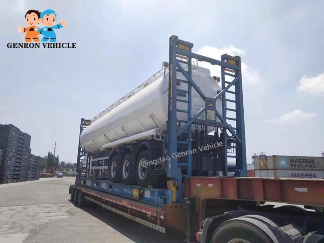 Genron lpg trailer tanker directly sale bulk production-16