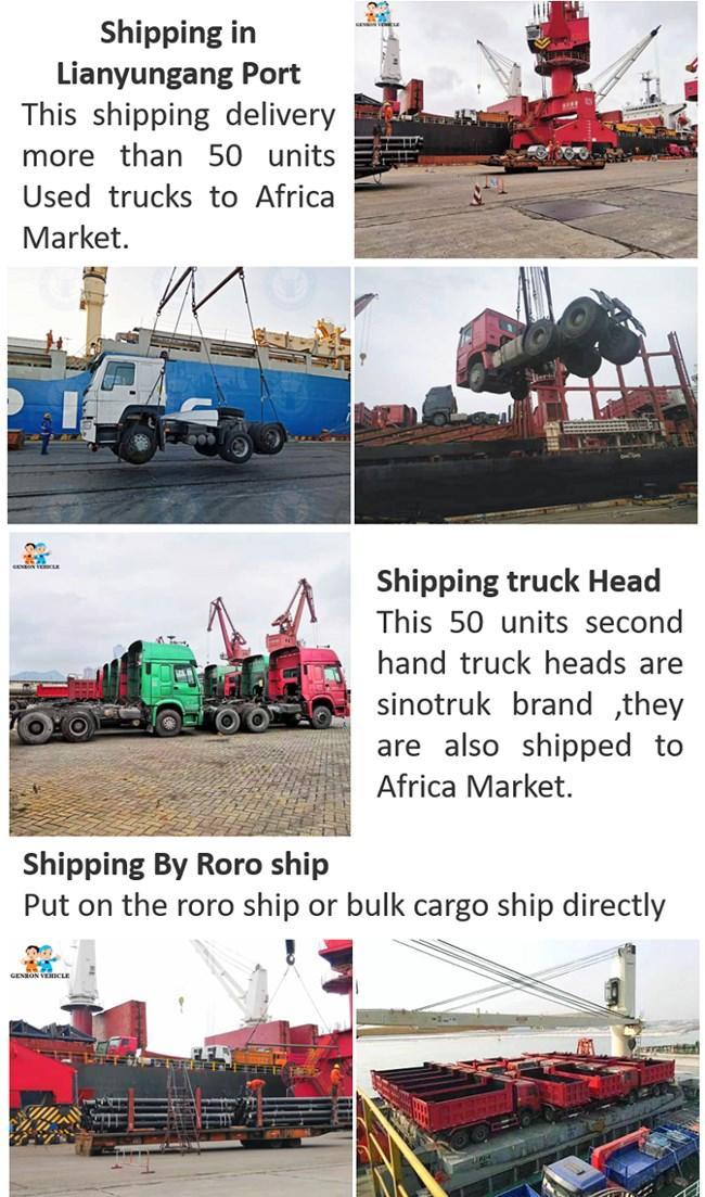 Genron second hand trucks for sale factory bulk production