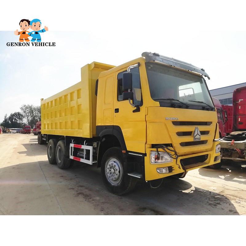 30 T 50 T Second-hand dump truck Export to African Market