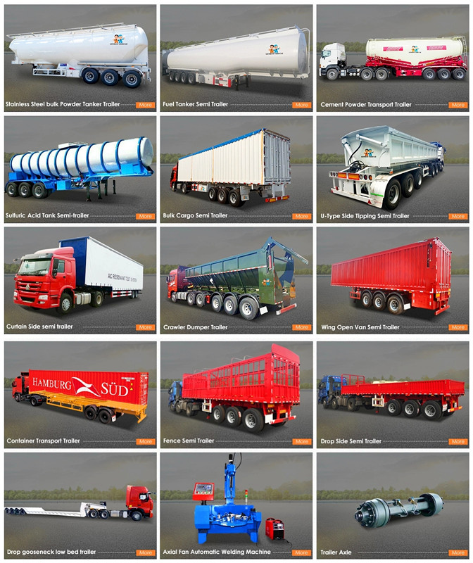 factory price truck low bed trailer from China for sale-3