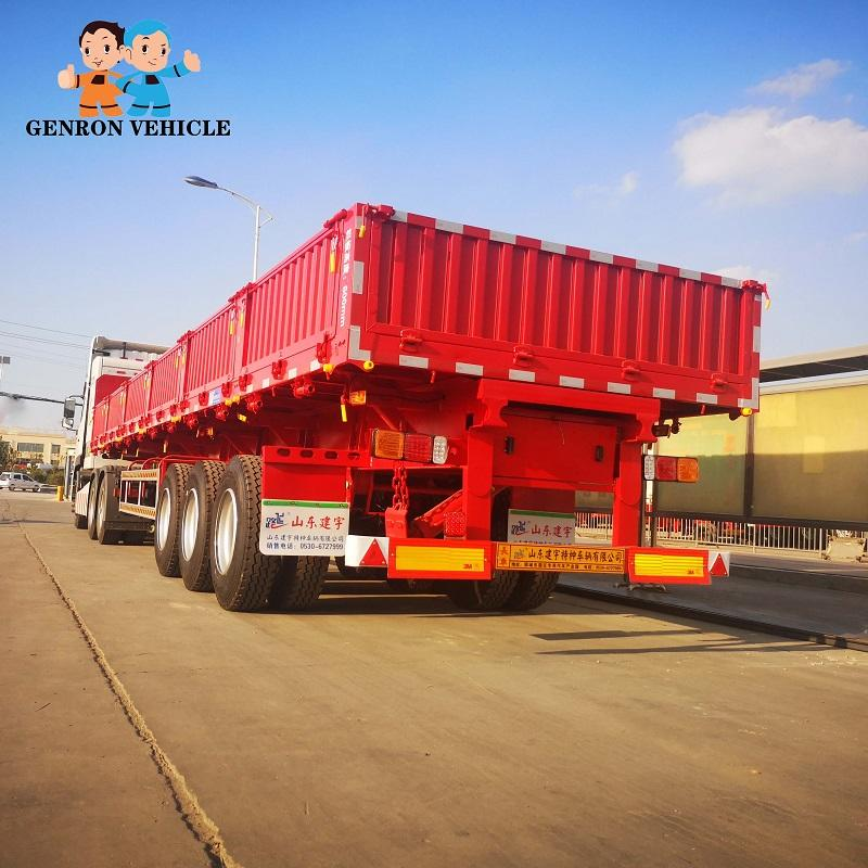 13 m Drop Side Semi Trailer with 600 mm side wall