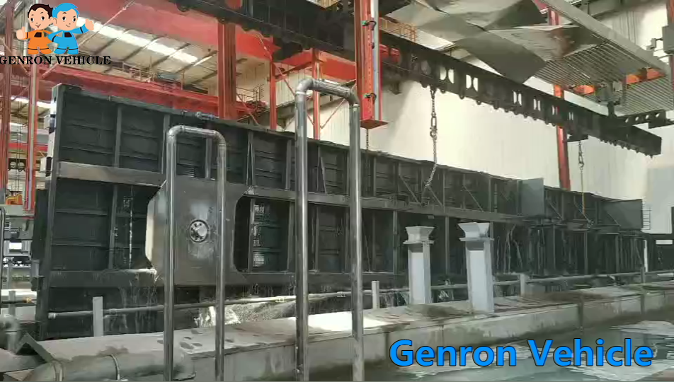 high quality 3 axle container semi trailer factory direct supply for transport goods-8