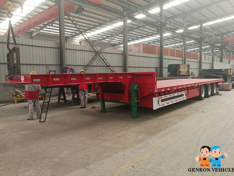 high quality 3 axle container semi trailer factory direct supply for transport goods-9