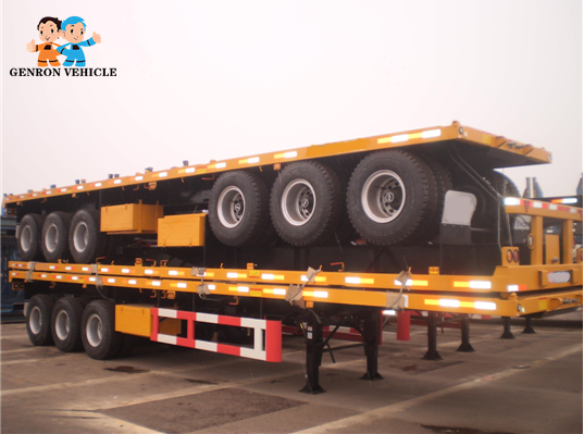 high quality 3 axle container semi trailer factory direct supply for transport goods-14