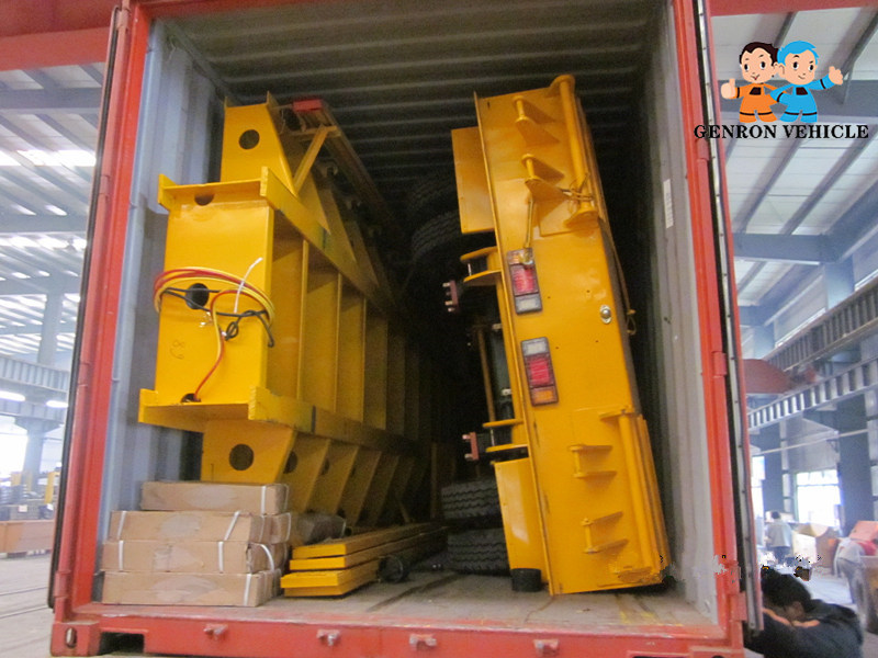 high quality 3 axle container semi trailer factory direct supply for transport goods-15