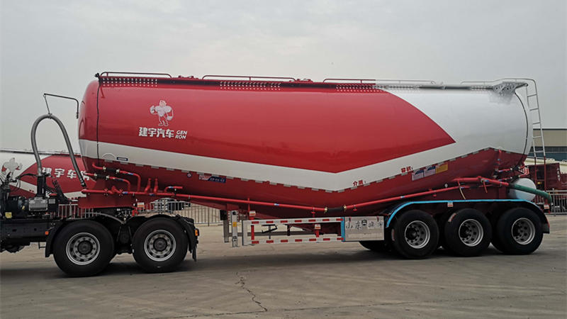 Dry Bulk Cement Tanker Semi Trailer