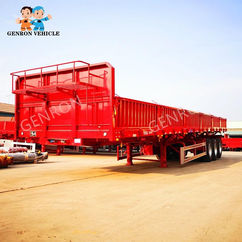 high-quality best cargo trailers series for transport goods-3