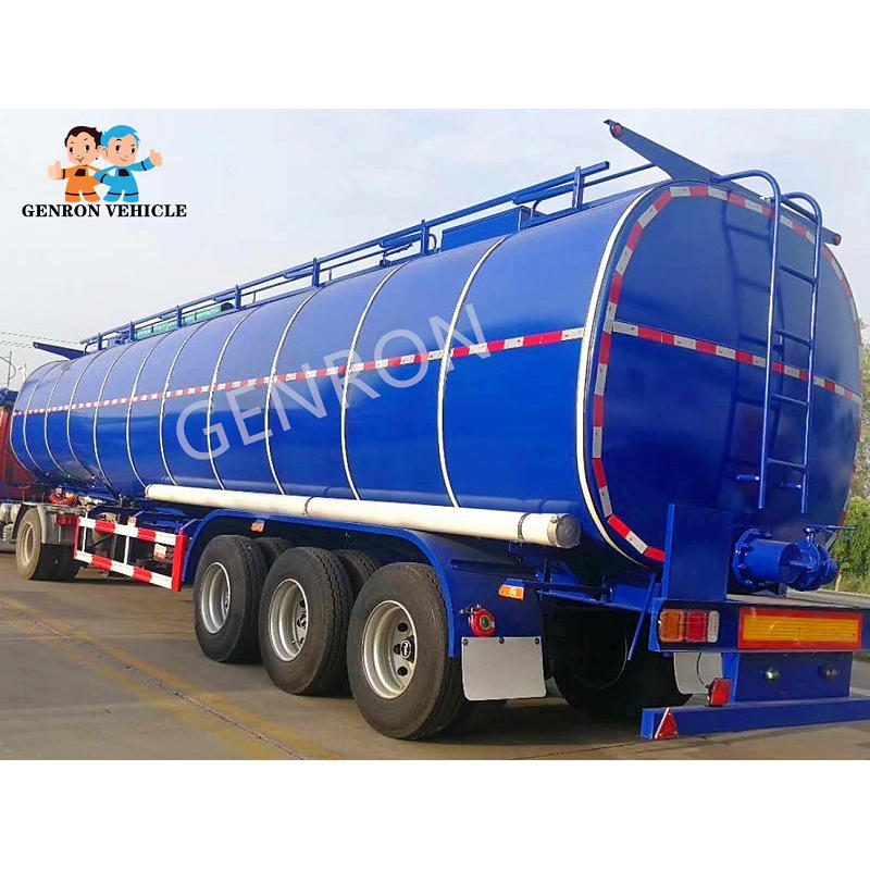 Asphalt Bitumen Transport Tanker Semi Trailer