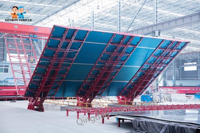 Tri Axles Aluminium Crude Oil 35CBM 35000L Semi Tanker Trailer 8