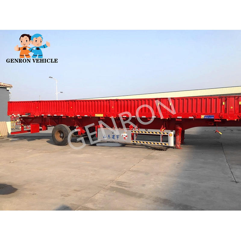 40-60T Bulk Cargo Carrier Side Wall Semi Trailer
