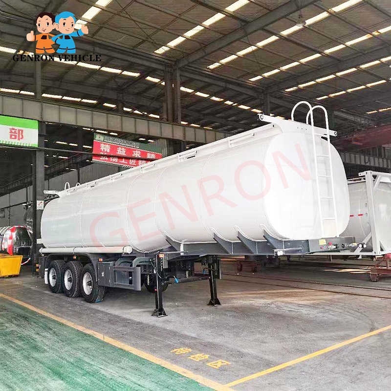 Best 40000 Liters Fuel Tank Trailer Liquid Tanker Trailer