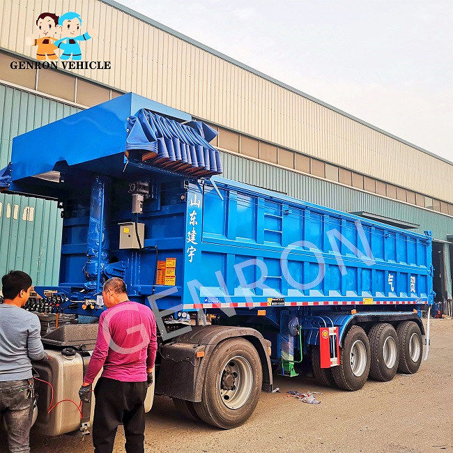 reliable dump truck and trailer wholesale for promotion-2
