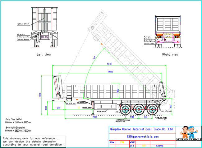 reliable dump truck and trailer wholesale for promotion-6