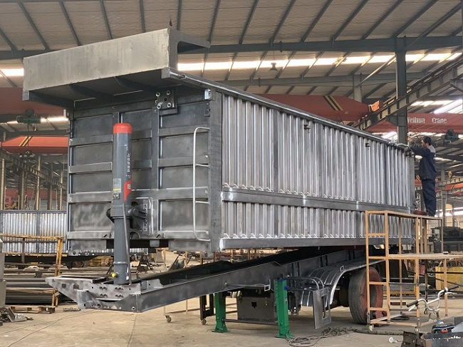 reliable dump truck and trailer wholesale for promotion-8