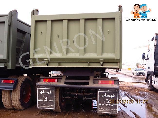 Genron low-cost dump truck trailer manufacturer for sale-4