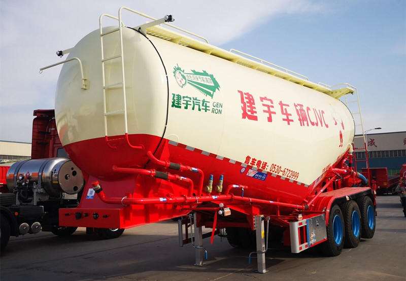 Bulk cement carrier -matched with snio truck HOWO truck head in one if Genron Vehicle Service Office Shanghai