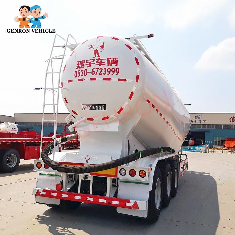 35-40CBM Dry Bulk Cement Tanker Semi Trailer