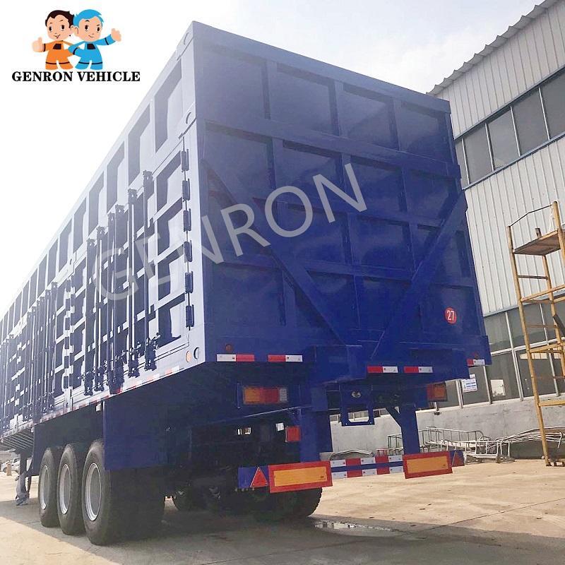 Dry Van Box Semi-trailer for Transporting Coal