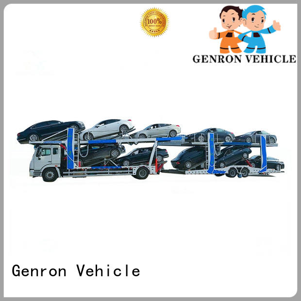 high quality semi car hauler trailer factory direct supply bulk production