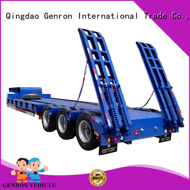 Genron low base trailer suppliers on sale
