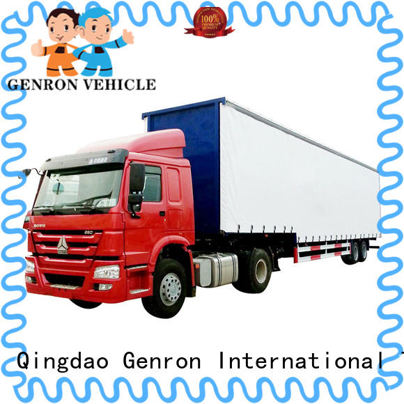 cheap Curtain Semi-trailer suppliers for transport goods