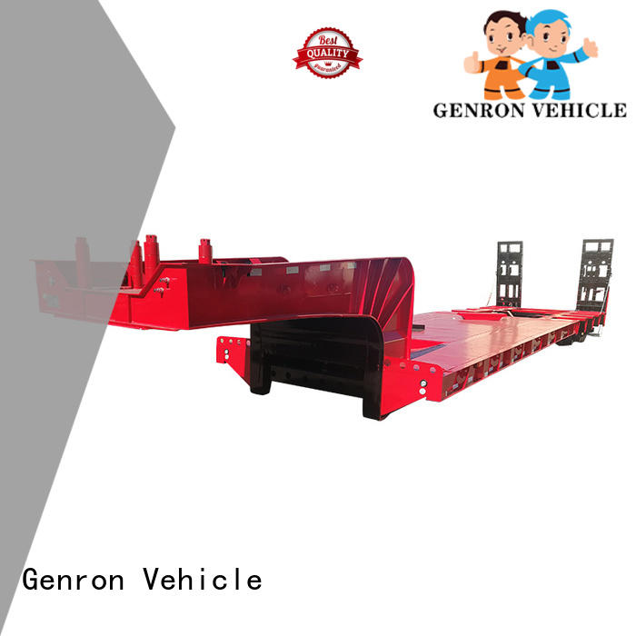 Genron custom semi low bed trailer inquire now for sale