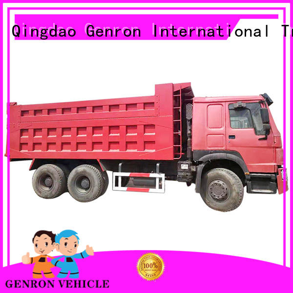 Genron second hand semi trailers wholesale bulk buy