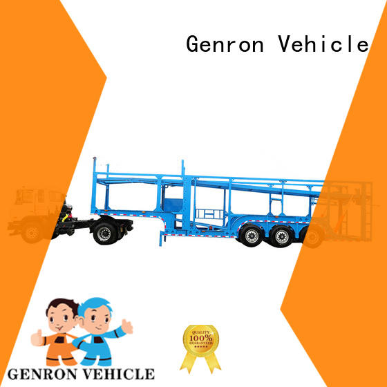 Genron durable vehicle transport trailer factory for promotion